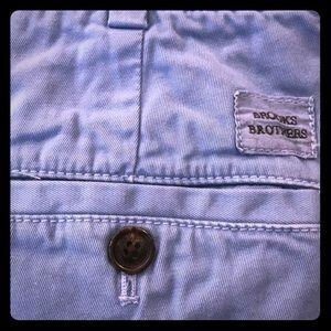 Brooks Brothers blue shorts